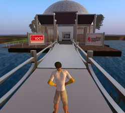 IOCT Island in Second Life